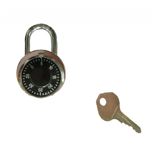 Dial lock (with key)